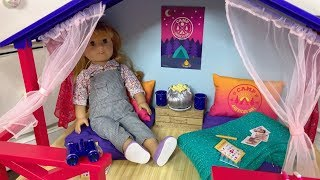 New American Girl Doll Summer Camp Set