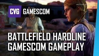 Battlefield Hardline: 12 Minutes of Singleplayer Gameplay | Gamescom 2014