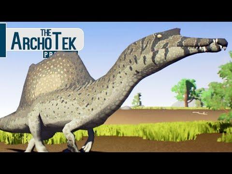 The Archotek Project - Caçando Com Spinosaurus, Manada De Herbívoros! | Dinossauros (#5) (PT-BR)