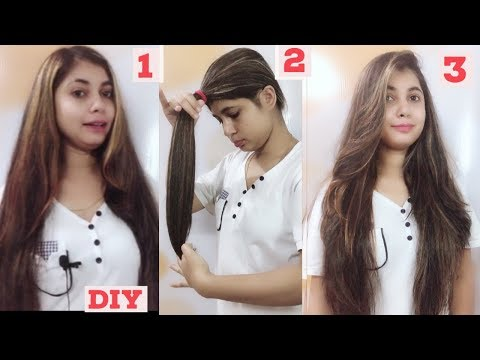 Long Hair Layer Cutting At Home!!suhanigupta