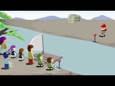 Solving puzzle 5 - Japanese River crossing puzzle
