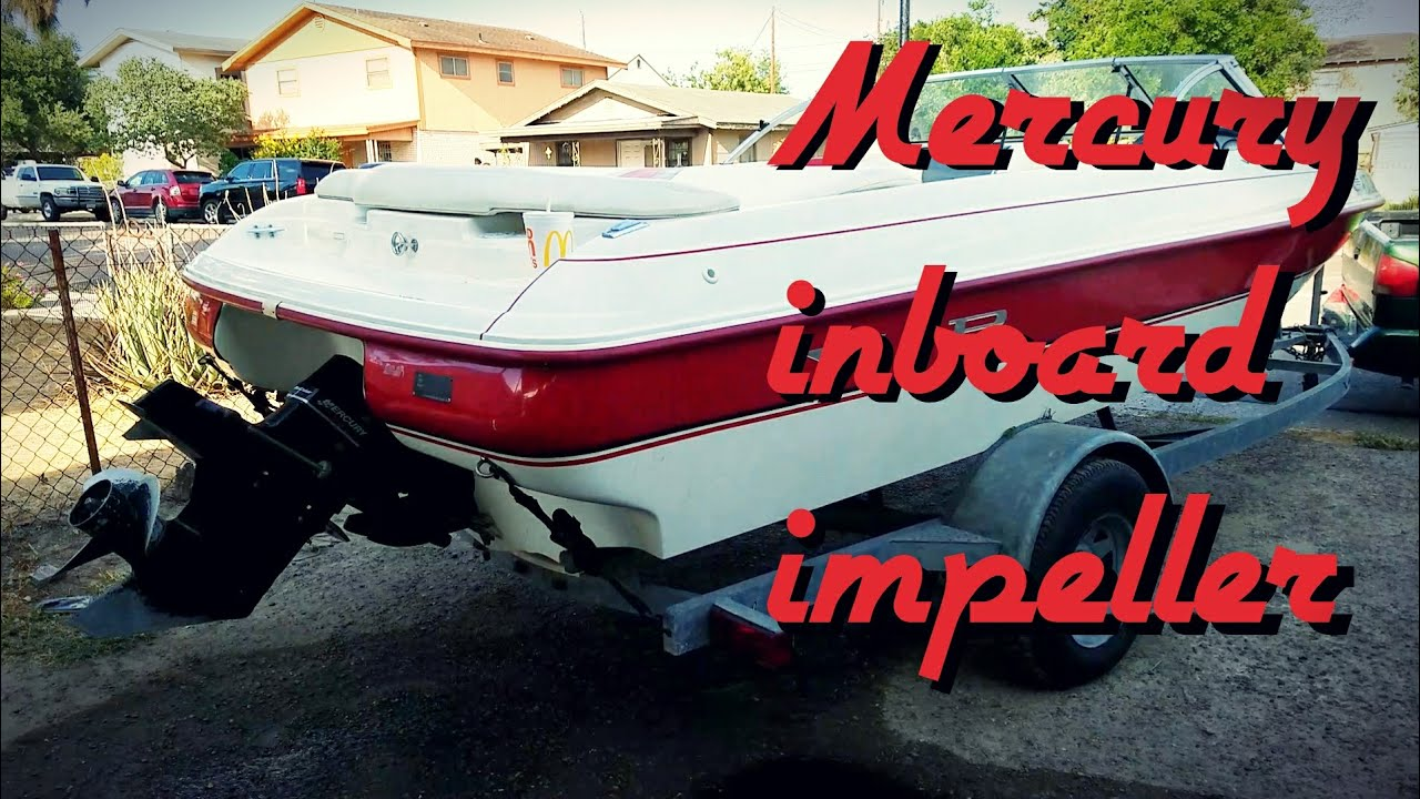 hight resolution of how to replace an impeller on a mercury inboard