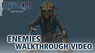Falling Skies - PS3 / X360 - Enemies Walkthrough video