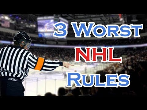 The 3 Worst Rules In The NHL