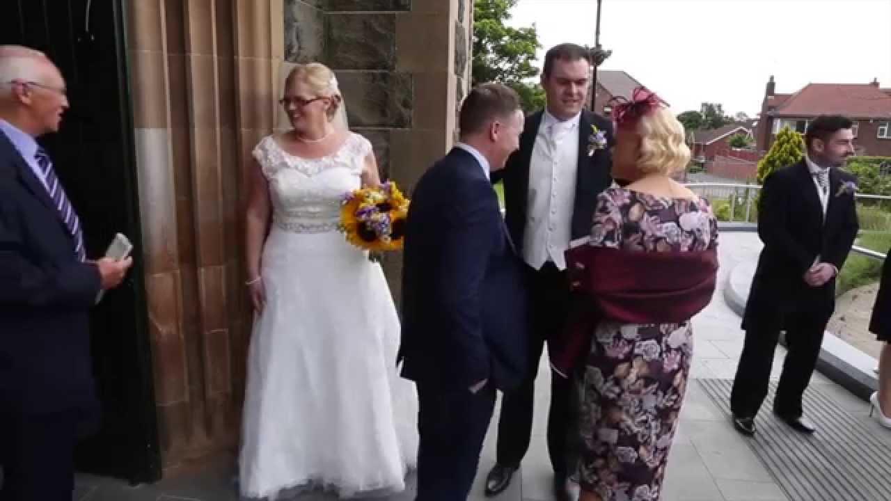 Emma And Sean Wedding 9th July 2105 Church Door Receiving Line