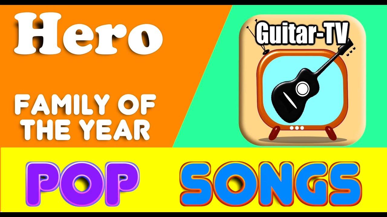 Hero Family Of The Year Coverlyricschords Tutorialgitarre