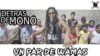 """DETRAS DE MONO  """"UN PAR DE WAMAS"""""""