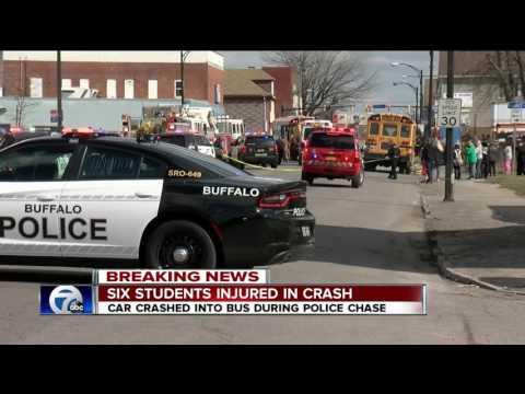 Six Buffalo Public School Students injured in crash