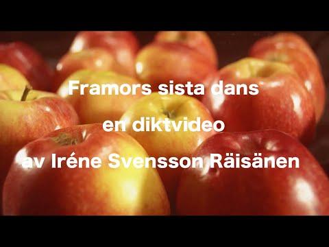 Farmors sista dans –diktvideo av poeten Iréne Svensson Räisänen
