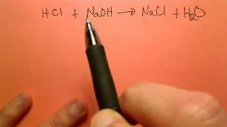 20.0 مل من 3.0 M HCl الحل مختلطة مع 20.0 مل من 5.0 M من محلول هيدروكسيد الصوديوم. ما هي درجة الحموضة ؟