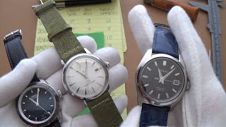 The Triple Midsize Automatic Dress Watch Showdown - Seiko SARB033 Vs Orient Star Vs Oris Artix Date