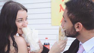 Малобюджетная свадьба: нестандартный клип. (Армен и Ксения)