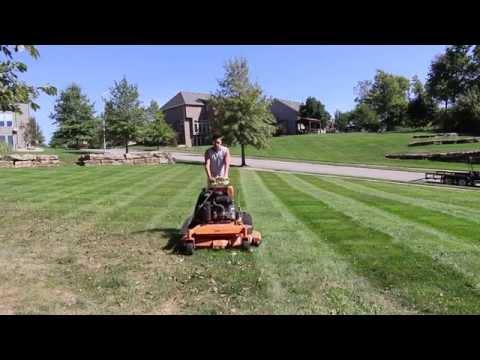 Lawn Care Vlog #2 Stripes, Big A$$ Blower, Sunset