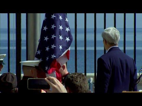 U.S. Embassy Havana Re-Opening Ceremony