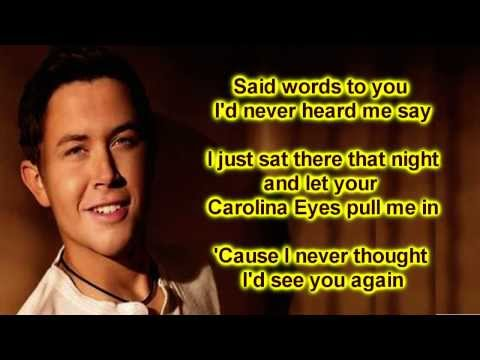 Scotty McCreery - Carolina Eyes (Lyrics)