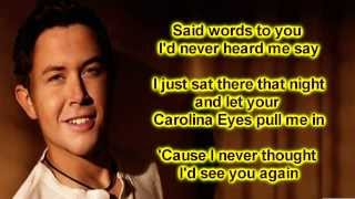 Watch Scotty Mccreery Carolina Eyes video
