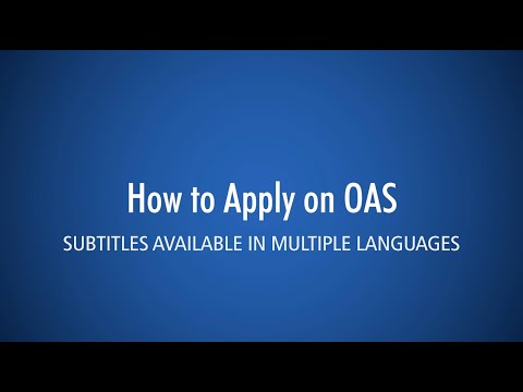How To Apply (OAS) - George Brown College International