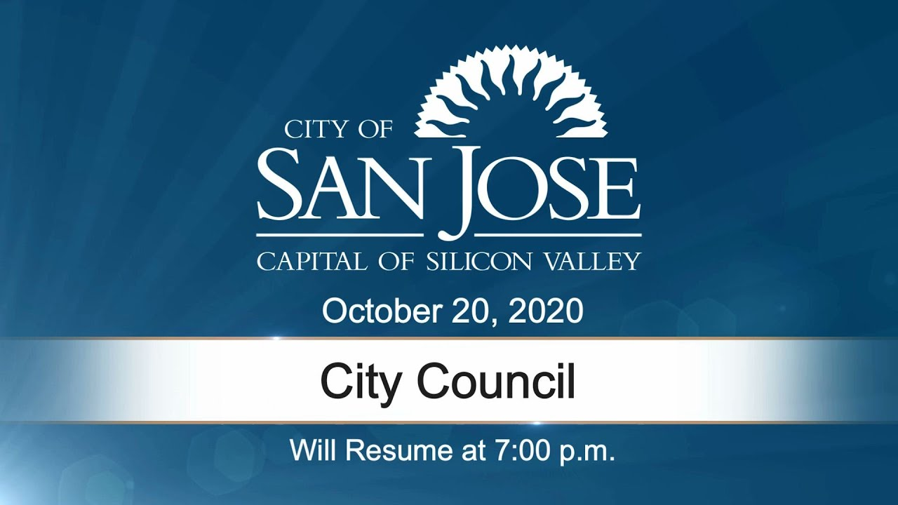 OCT 20, 2020 | City Council, Evening Session