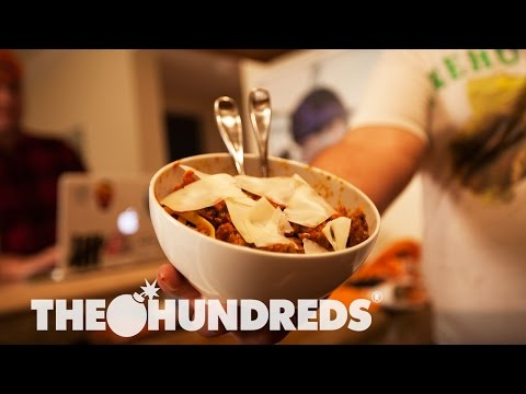"WINGIN' IT :: Jesse Furman Makes Rob Heppler's ""Douchebag Bolognese"""