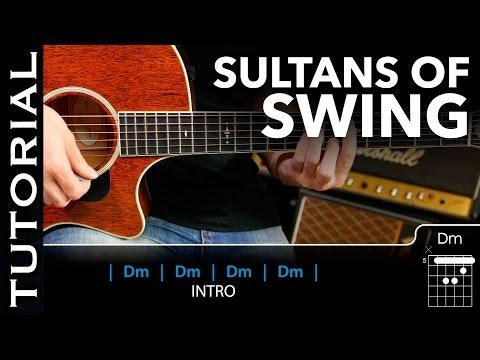 Cómo tocar Sultans Of Swing de Dire Straits en guitarra acústica Fácil! guitarraviva
