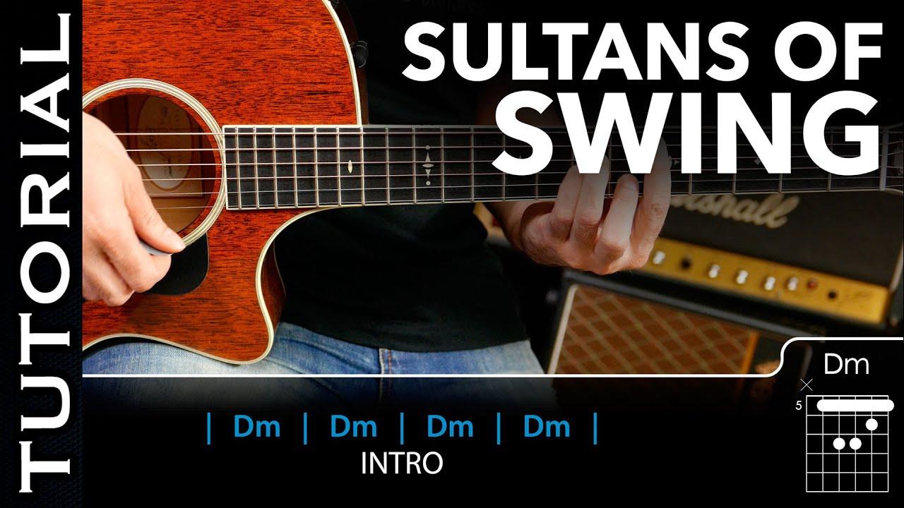 Cómo Tocar Sultans Of Swing De Dire Straits En Guitarra Acústica Fácil Guitarraviva Youtube
