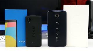 Google Nexus 6 vs Nexus 5 - Ultimate Comparison!