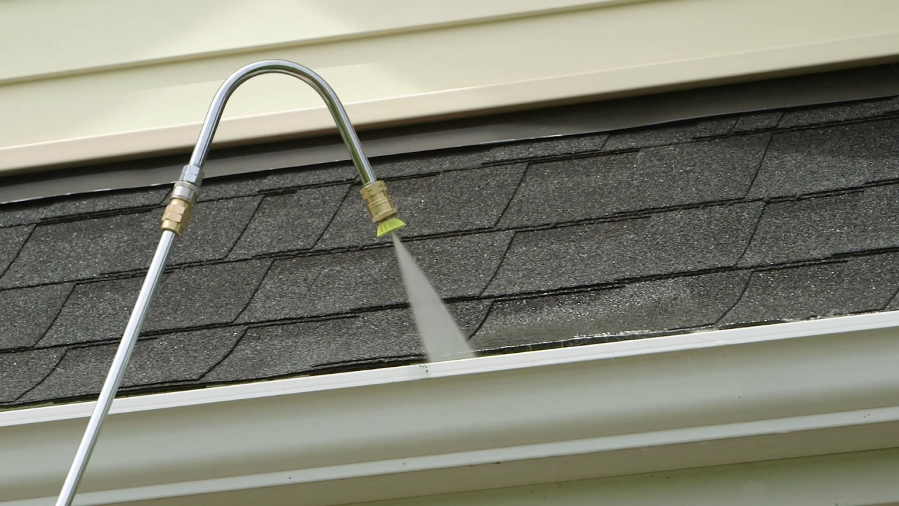 Gutter Cleaner Pressure Washer Accessory Mi T M Youtube