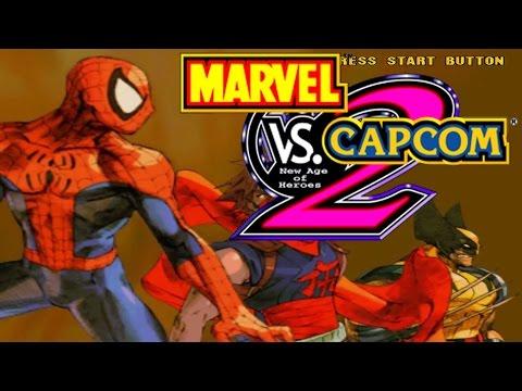 Marvel vs Capcom 2 - Que comience la guerra!