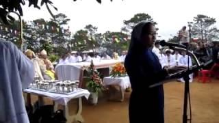 CPN - Đức Mẹ Măng Đen  Hát bộ lễ tiếng Dân Tộc Tây Nguyên và bài đọc, đáp ca   YouTube