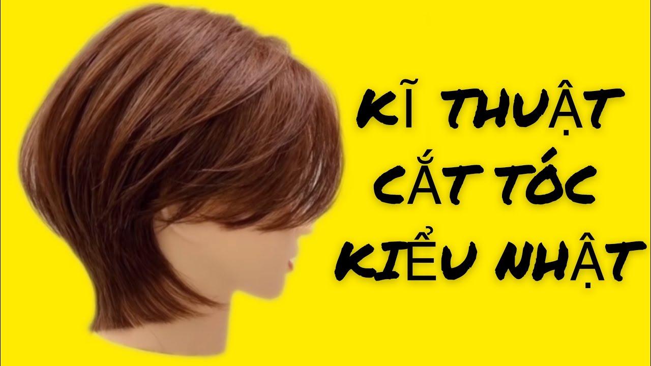 Kĩ Thuật Cắt Tóc Ngắn Kiểu Nhật / Kiểu Tóc Ngắn Nhật Gáy Dài _ Khôi Nguyên Hair idol