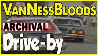 Van Ness Bloods shoot at the Crips on Harvard Avenue in 1988 and get arrested after short pursuit