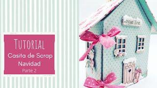 Tutorial álbum casita Navidad parte 2