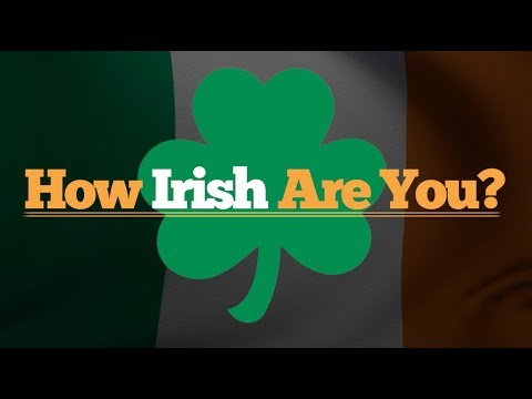 How Irish Are You? - Promo