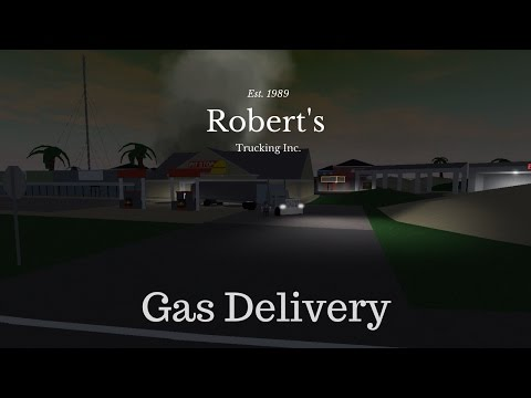 Roblox Ultimate Driving | TRUCKER| Ep.1 Delivering Gas to all gas stations!