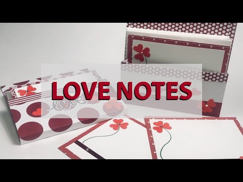 Love Notes - Paper Crafting