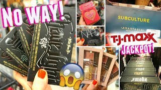 The BEST TJ MAXX MAKEUP FINDS... PROMISE!! NARS, KVD, TOO FACED + HUGE HAUL!