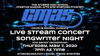 CMAS Songwriter NIght 050720