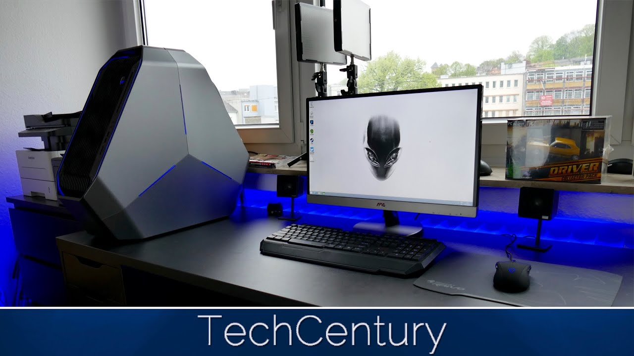TechCentury Alienware Area 51 Gaming /Editing Setup Tour 2015