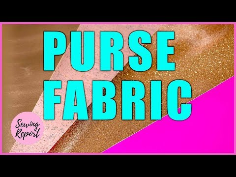 LIVE HAUL 🔴 Glitter Vinyl, Faux Leather, Cork Fabric FT Sew Sweetness 👛 | SEWING REPORT