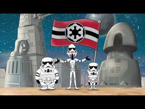 Мультфильм звездные войны финес и ферб
