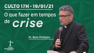 Culto de Celebração - 17/01/2021 - Aprendendo Missões com Jesus - Pr. Roberto Pinheiro - 17h