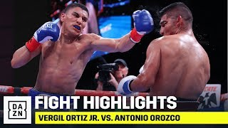 FULL CARD HIGHLIGHTS | Vergil Ortiz Jr. vs. Antonio Orozco