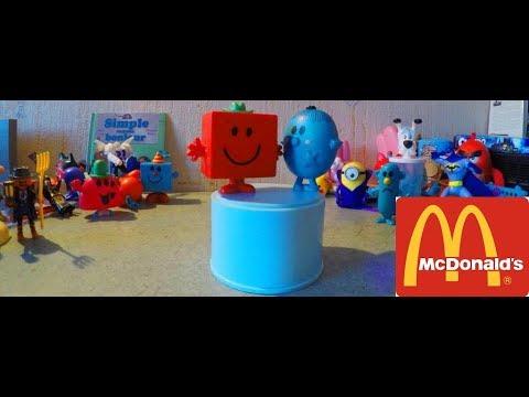 Super MCDONALDS* Jouet MONSIEUR MADAME 4/90 !!!! #25 - YouTube NE05
