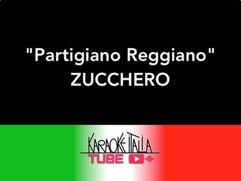 Zucchero   Partigiano Reggiano   Video Karaoke   Base Musicale   Intrumental