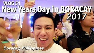 VLOG 51: New Years Day in Boracay 2017 (Philippines)