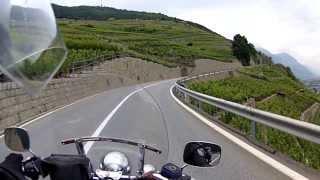 Martigny, Switzerland to the Mont Blanc Tunnel