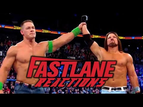 WWE Fastlane 2018 Reactions