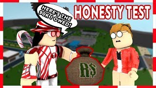 ROBLOX | Welcome To Bloxburg: HONESTY TEST (Social Experiment)