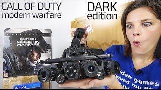 Call of Duty Modern Warfare unboxing Dark Edition -con VISOR NOCTURNO-