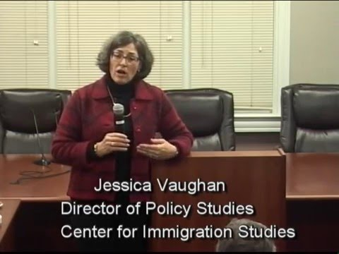 Jessica Vaughan Immigration Discussion - 1/14/16